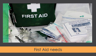 First Aid needs
