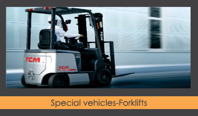 Special vehicles-Forklifts